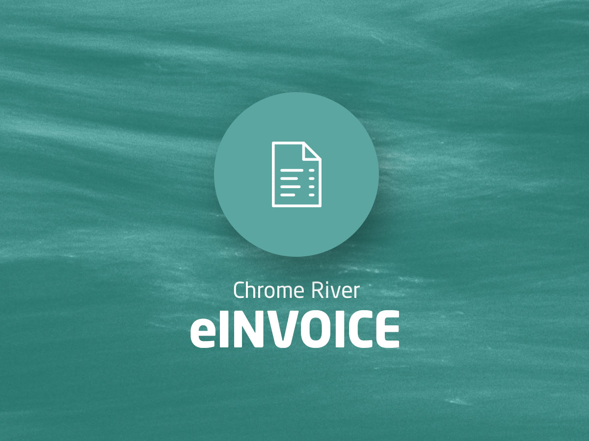 Einvoice solution from chrome river for Einvoice